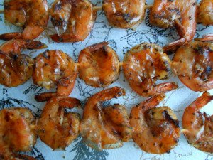 Midweek Mixers – Grilled Garlic and Herb Shrimp