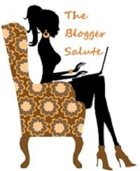 the blogger salute