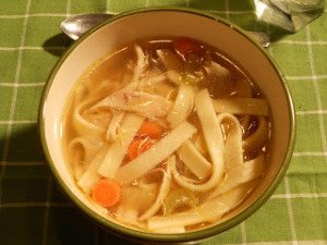 Mid-Week Mixers: Naomi's Perfect Chicken Noodle Soup