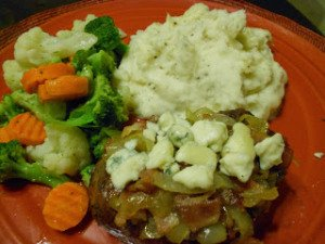 Smothered Filet Mignon on Mid-Week Mixers