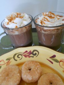 Mexican Hot Chocolate Cinnamon Baked Donuts