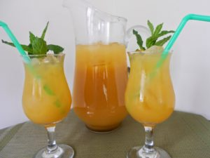 citrus bourbon punch mid-week mixers