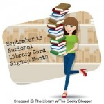 September is National Library Card Signup Month