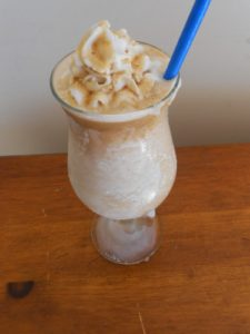 spiked siesta frappe