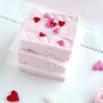 2 ingredient Valentine's Day Fudge – Mid-Week Mixers