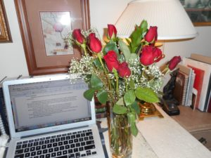 roses on vday