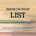 #showusyourlist – The Reader Salute