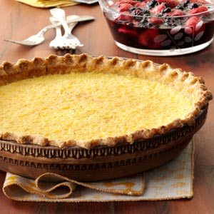Lemon Chess Pie – #southerncomfort