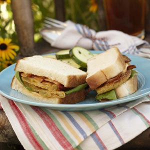 Fried Green Tomato BLT – Southern Comfort