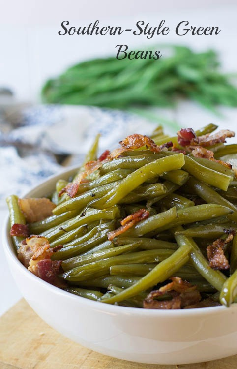 Try this southern style green beans recipe southern comfort for Style green