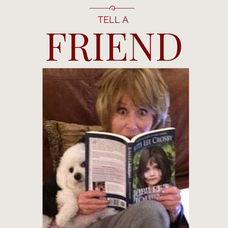 Treasure Me – #tellafriend