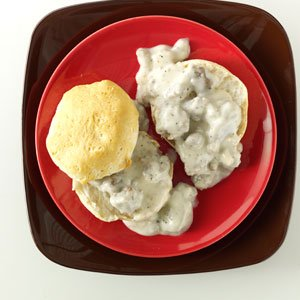 White Sausage Gravy – #southerncomfort