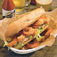 Shrimp Po Boy – #southerncomfort