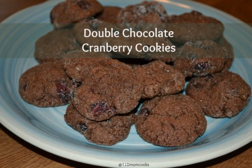 double chocolate cranberry cookies (4)C T