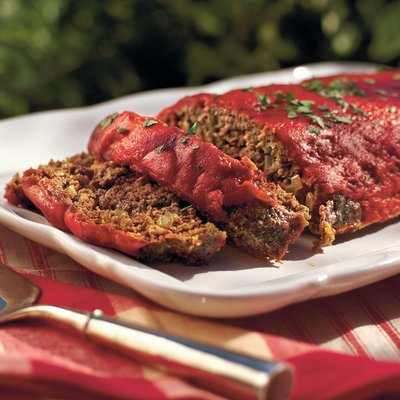 Family Favorite Meatloaf – #southerncomfort