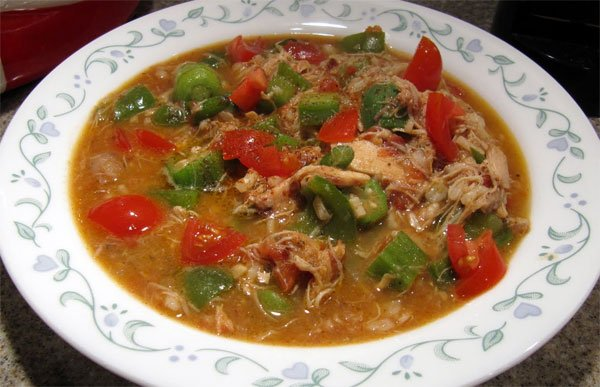 Chicken gumbo – #southerncomfort