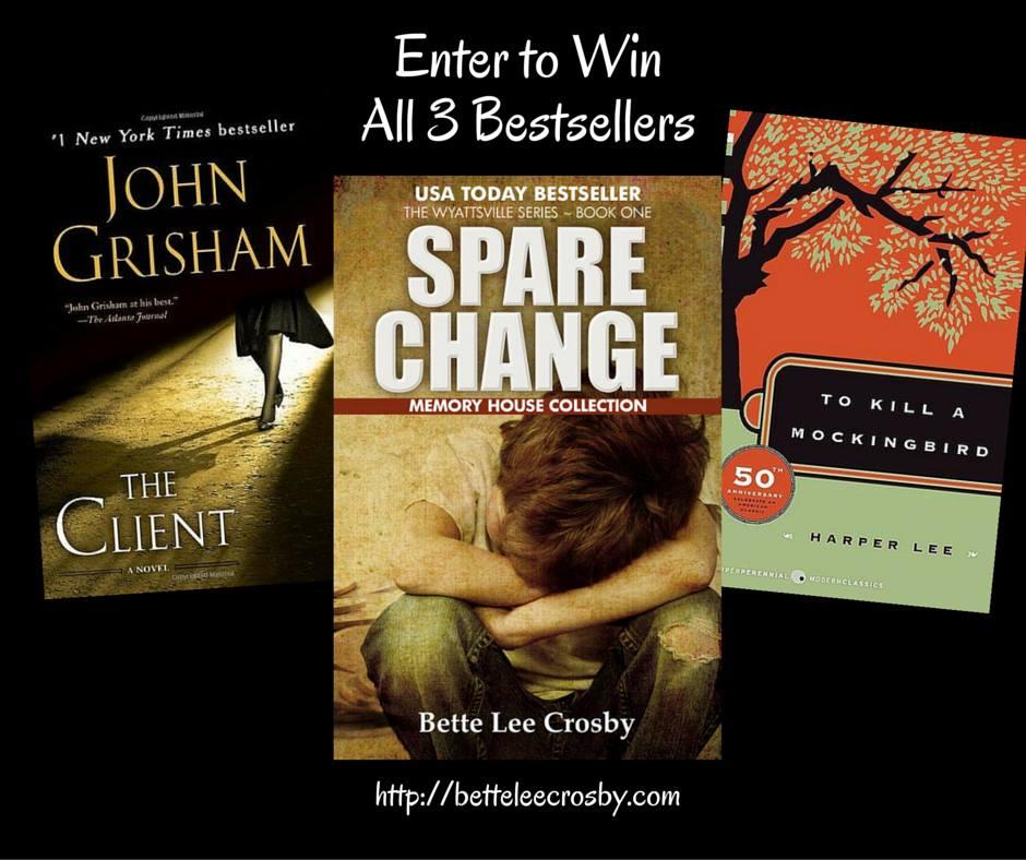 John Grisham, Harper Lee and Bette Lee Crosby – #fanfun