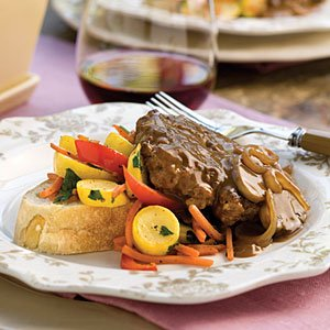 Hamburger Steak with Gravy- #southerncomfort