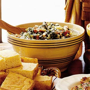 Turnip Greens Stew – #southerncomfort