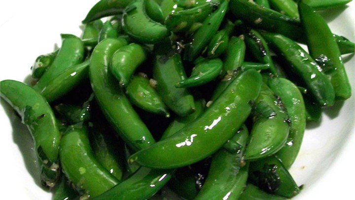 Minted Sugar Snap Peas – #southerncomfort