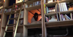 sleep-inside-a-bookshelf