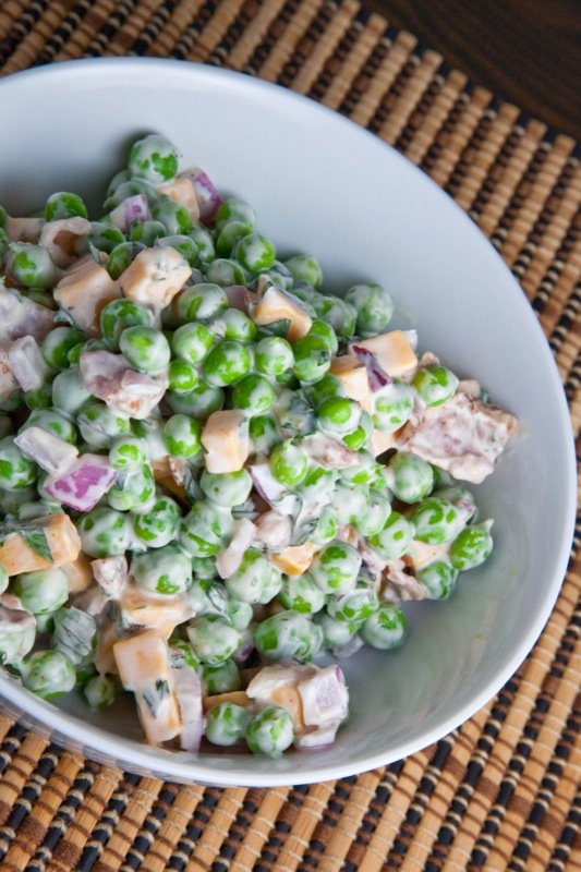 How to Cook Pea Salad