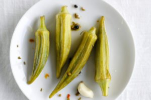 okra-pickles