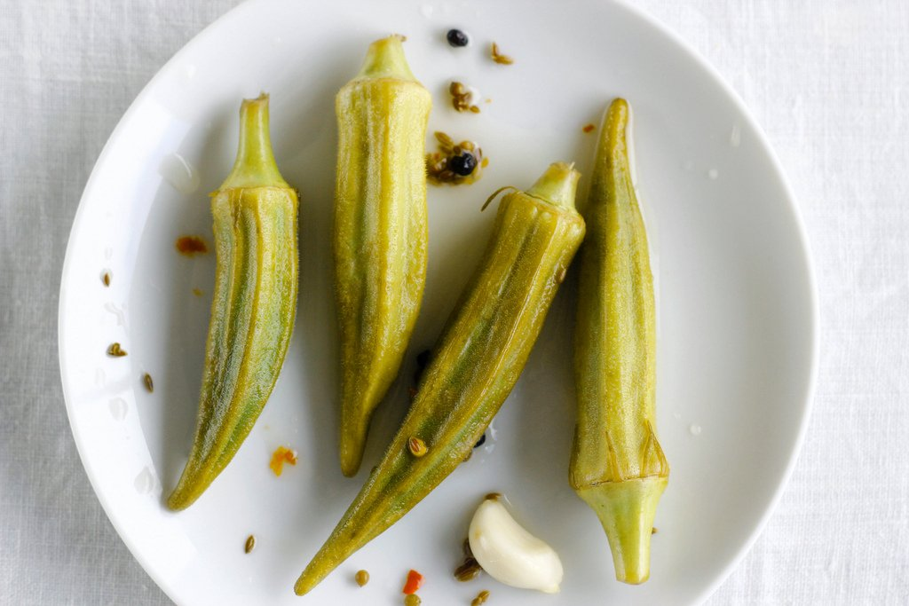 How to cook Okra Pickles
