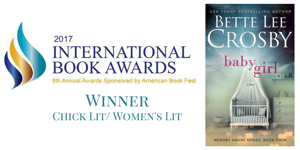 Baby Girl wins International Book Award!