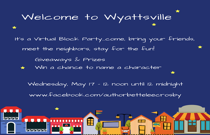 Wyattsville Block Party – Don't miss the new book covers!