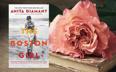 The Boston Girl by Anita Diamant on Bette's Bookshelf