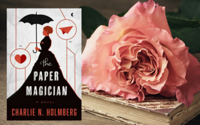 The Paper Magician by Charlie N Holmberg on Bette's Bookshelf