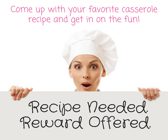 I Need a Recipe Giveaway!
