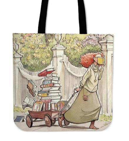 Win a delightfully whimsical book tote