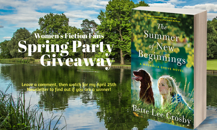Spring into the Women's Fiction Fan Party!