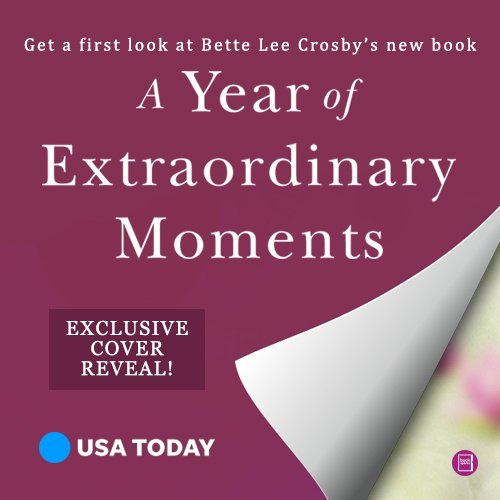USA Today exclusive cover reveal of A Year of Extraordinary Moments