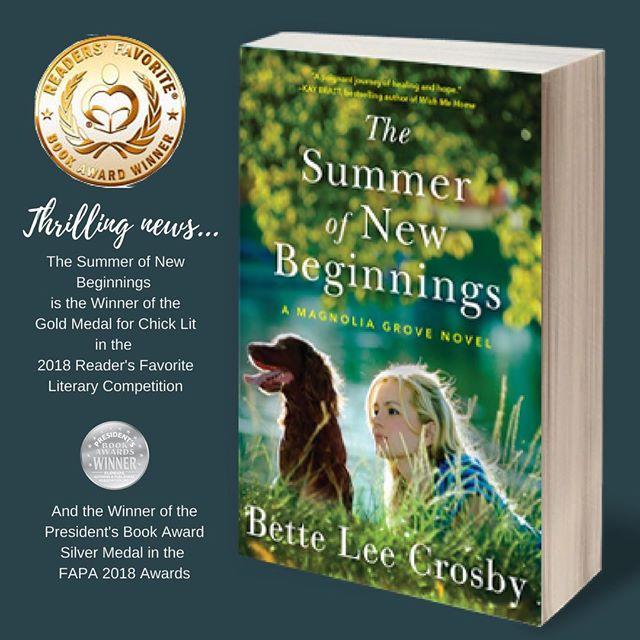 The Summer of New Beginnings is a WINNER!