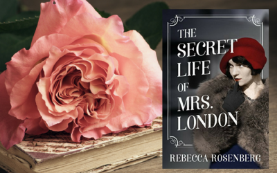 The Secret Life of Mrs. London by Rebecca Rosenberg on Bette's Bookshelf